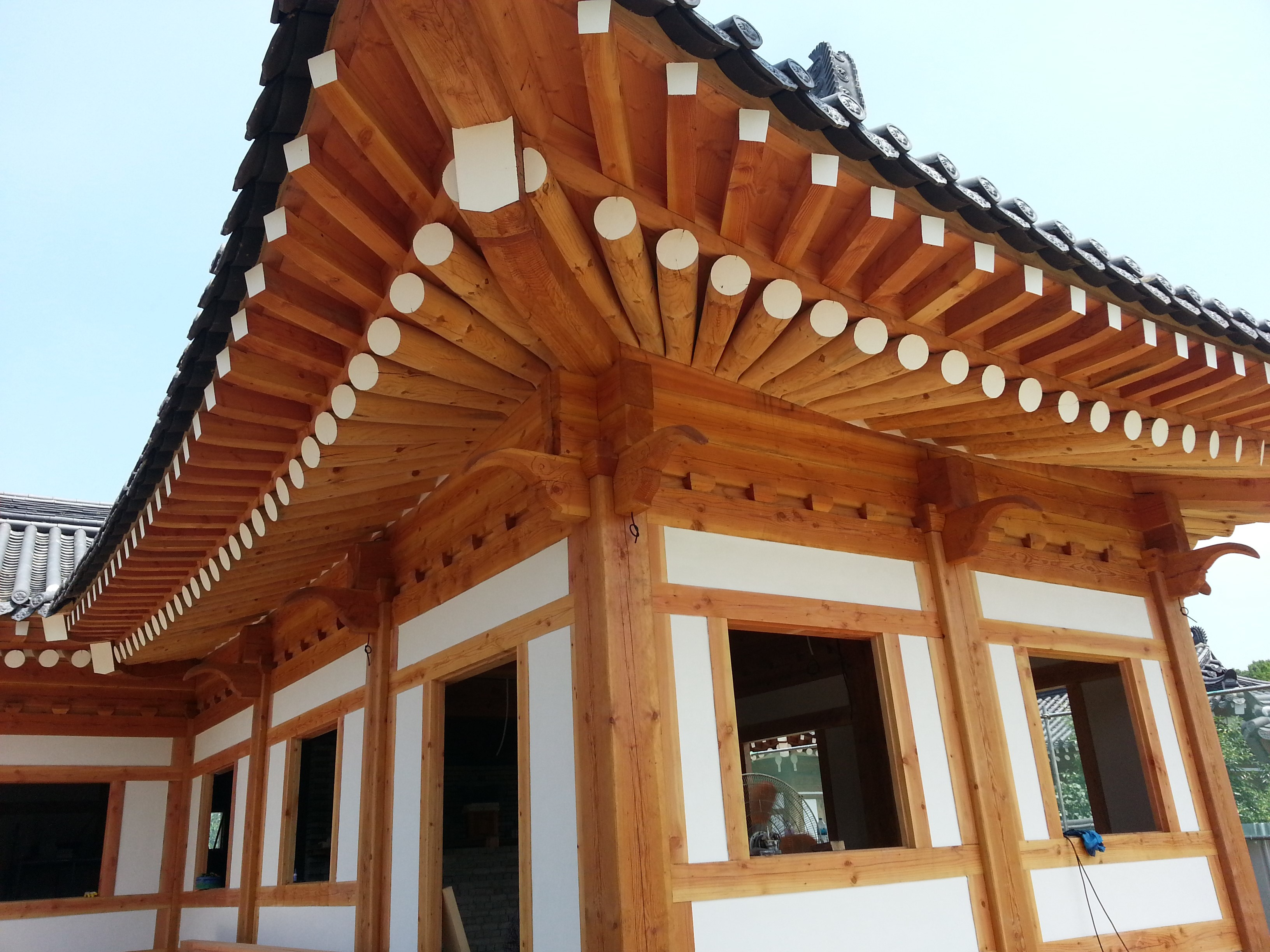 Timber Framed House - Hanok 5