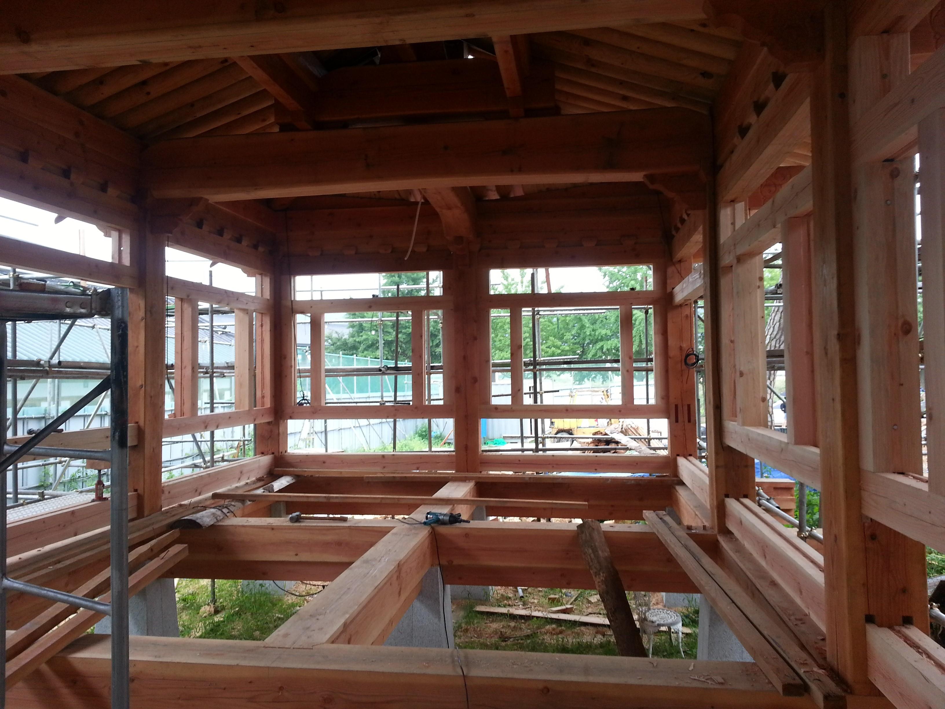 Timber Framed House - Hanok 1