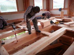 Timber Framed House - Hanok 2
