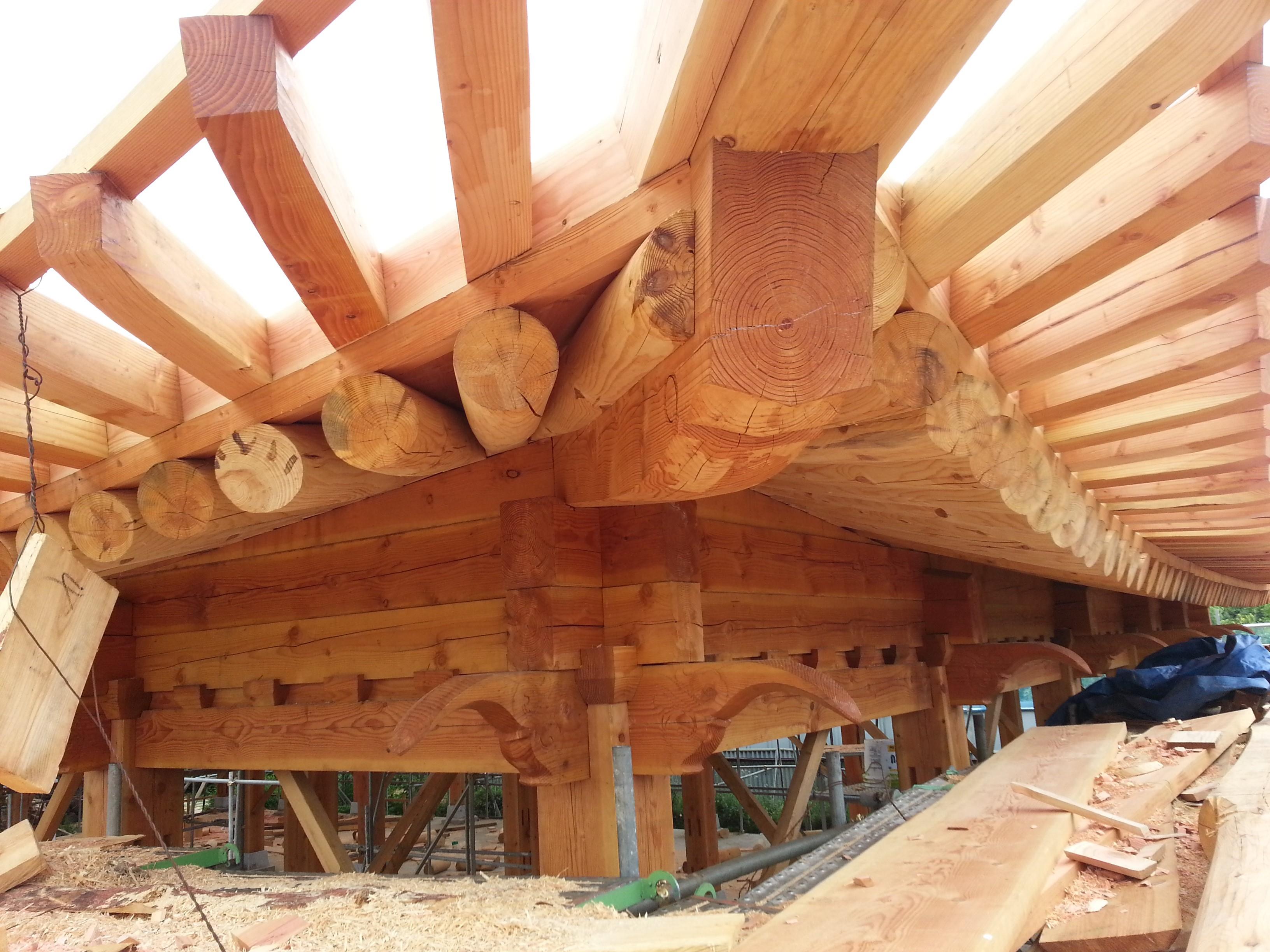 Timber Framed House - Hanok 6